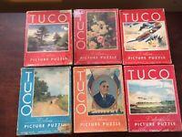Vintage TUCO Puzzle LOT (LOT 6))
