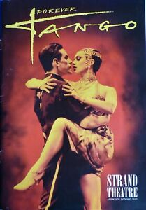 """FOREVER TANGO"" Original 24th June 1995 Brochure STRAND THEATRE"