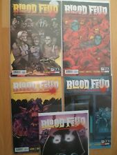 "Blood Feud Issues 1 To 5 ""First Prints"" Full set - 2015 Cullen Bunn Dark Ark Oni"