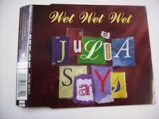 WET WET WET - JULIA SAYS - CD SINGLE 1997 EXCELLENT - 4 TRACKS
