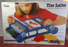 "Smoby Children's Weaving Loom ""Tiss Laine"" 1980s New Old Stock"