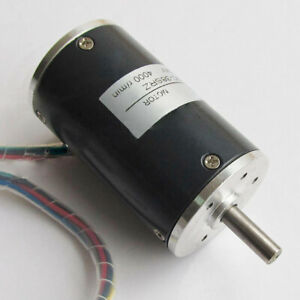 DC12V 24V Brushless Motor 4000RPM 3000RPM 2000RPM High Speed Electricmotor 38SRZ