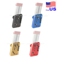"IPSC USPSA IDPA 3 X Pistol Mag Pouch 1.5/"" SHOOTING Cintura Tanfoglio Double Stack"