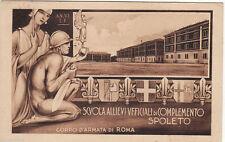#SPOLETO: SCUOLA ALLIEVI UFF. DI COMPLEMENTO- CORPO D'ARMATA DI ROMA