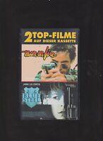 VHS Video  - 2 Top Filme - Man on Fire +  Blue Steel
