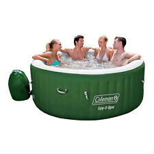 Coleman Lay Z Spa SaluSpa Inflatable Hot Tub Bubble Jacuzzi Set 6 People New