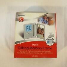 Travel Talking Memory Frame with Alarm made by Radio Shack 63-1206 Nib