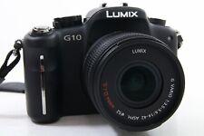 Panasonic Lumix DMC-G10 Kit schwarz, top Zustand, extra Zubehörpaket
