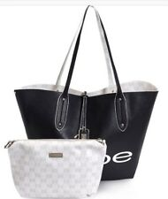 Bebe Linda Reversible Tote With Crossbody Pouch women awesome