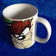 Warner Bros Looney Tunes Taz Faces Coffee Tea Mug Tazmanian Devil film reel