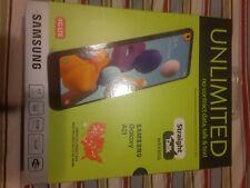 "Straight Talk SAMSUNG Galaxy A21 6.5"" 32GB Prepaid Smartphone - Black"