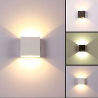 Lampada da Parete Interno Esterno 6W Applique da Parete lampade LED Moderno IP20