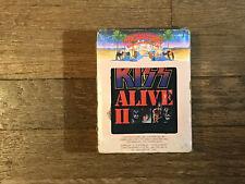 Kiss 8 Track Tape Lot - Alive II - Volume I & II - Casablanca NBL8-7076