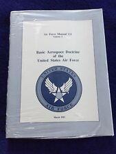 Air Force Manual 1-1, 1992