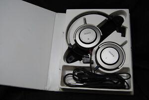 RARE Vintage Sony DR-Z7 DRZ7 Dynamic Stereo Headphones In Case Estate HiFi