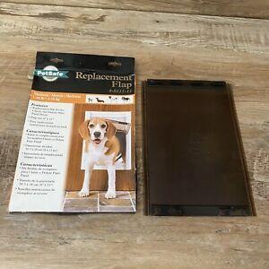 PetSafe Classic Medium Replacement Flap 700-415 4-0111-11 Patio Panel 40lbs