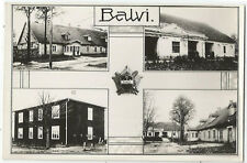 Latvija Latgale, Lettland, Lettgallen, Balvi, alte Foto-Ak um 1930