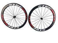 carbon fiber wheelset strength 50mm road bike 700c clincher 3K  fast shipping