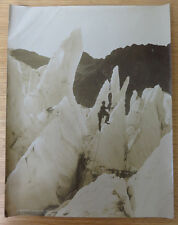 Gouttet, Alpiniste, Glacier des Bossons, Montagne Alpes