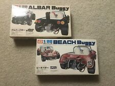 imai 1/20 albar buggy + beach buggy motorized model kit set unbuilt complete