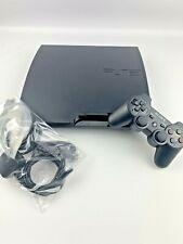 Sony PlayStation 3 Slim 320GB Console - Black - Refurbished, 6 Month Warranty