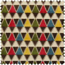 Telas y tejidos geométricos de terciopelo para costura y mercería