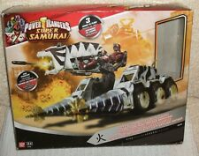 POWER RANGERS ** SUPER SAMURAI TIGER TANK WITH SAMURAI RANGER ** BOXED No 31760