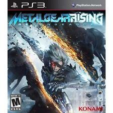PS3 Metal Gear Rising: Revengeance Sony PlayStation 3 *New & Sealed*