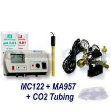 Milwaukee MC122 + MA957 / pH Controller + CO2 Regulator + 10 Ft Tubing, 115V