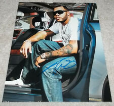 RAPPER SINGER FLO RIDA HAND SIGNED AUTHENTIC 11X14 PHOTO w/COA RIGHT ROUND