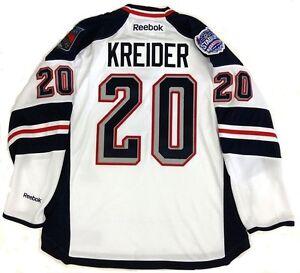 CHRIS KREIDER NEW YORK RANGERS STADIUM SERIES REEBOK NHL PREMIER JERSEY NEW