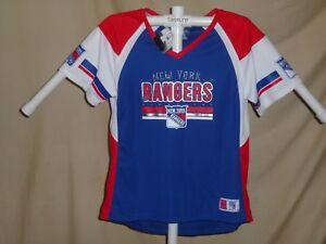 New York NY Rangers NHL Fan Fashion JERSEY/Shirt  MAJESTIC  Womens 2XL   NWT $55