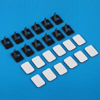 12pieces Black Color Right Hand Plastic Recurve Bow Arrow Rest New