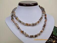 Markenlose Modeschmuck-Halsketten mit Achat-Hauptstein