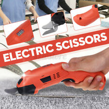 220V Electric Cordless Scissors Tailors Auto Cutter Cutting Machine 2 Bl