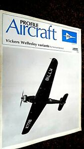 PROFILE PUBLICATIONS AIRCRAFT #256: VICKERS WELLESLEY VARIANTS (1973)