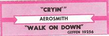Juke Box Strip Aerosmith - Cryin / Walk On Down