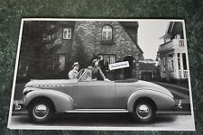 """1940 Chevrolet Special Deluxe Convertible side 12 X 18"""" Black & White Picture"""