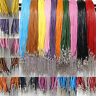 5/10/20pcs Real Round Leather Cord 2mm String Lace Thong for Jewellery Making