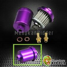 For Honda Civic Acura Integra Racing High Flow Volume Fuel Filter 200psi Purple