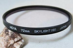 Hoya 72mm Skylight 1B Filter (A)