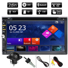 "Hd 7"" In Dash Double 2 Din Car Stereo Dvd Player Touchscreen Auto Radio +Camera (Fits: Volkswagen Touareg)"