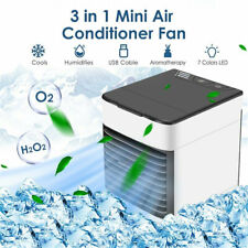 New ListingPortable Mini Air Conditioner Cool Cooling Bedroom Artic Cooler Usb Fan Desktop