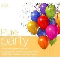 PURE...PARTY 4 CD MIT P!NK UVM. NEUWARE