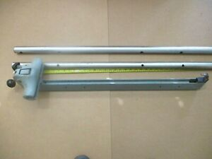 """Delta Rockwell Fence Ass'y W/Rails For 27"""" Deep Table  No Bolts No Saddle Blocks"""