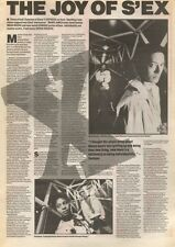8/9/90 Pgn15 Article & Picture the Joy Of Sex Dynamos Of Disco Sexpress Are Back