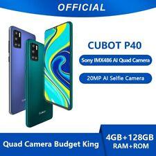 """Cubot P40 Black 6.2 """"128GB 4GB Dual SIM SIM Unlocked and Free SIM CUB-P40-BLK"""