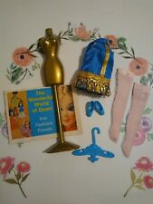 "Vintage topper dawn dolls/ ""FLIRTY FLOUNCE"" OUTFIT COMPLETE & EXCELLENT 💎💙💎💙"