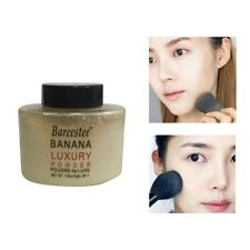 42g Woman Luxury Banana 1.5Oz Bottle Face Makeup Oil control Loose Matt Powder