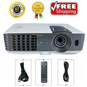 Benq MX711 DLP Projector Digital 3200 ANSI HD HDMI 1080p Fake Window w/Remote